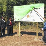Leaders cheer start of Hoffman Town Park project