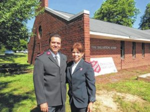 New Salvation Army leadership seeks communities' help