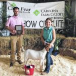 Richmond County 4-H youth prep for goat show