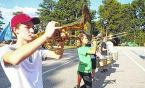 Richmond Senior marching band preps for upcoming year