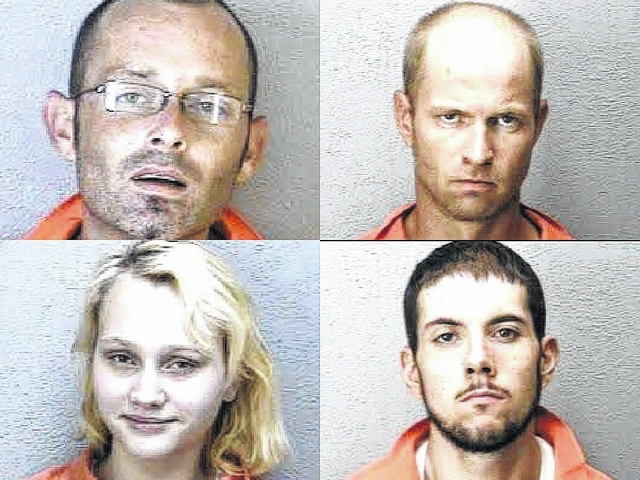 4 charged with having meth | Richmond County Daily Journal