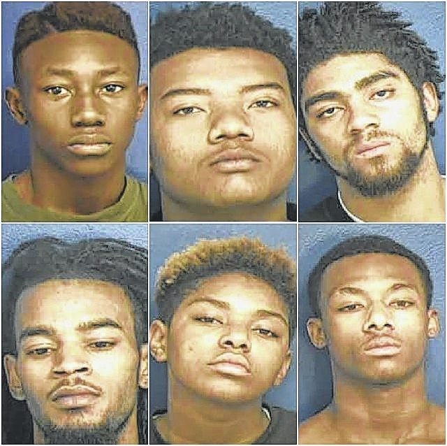 7 charged in Anson robbery, shooting cases | Richmond County