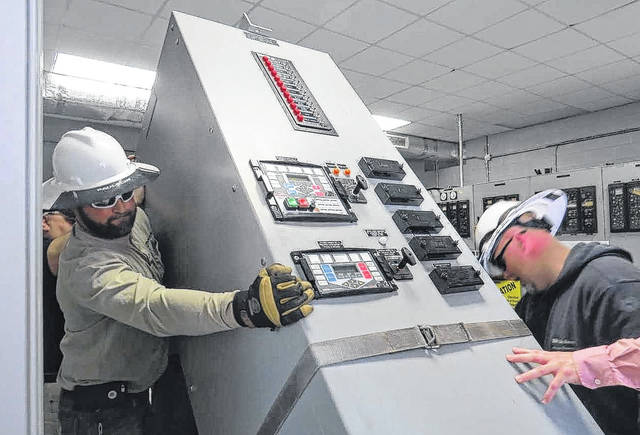 Rcc Substation Program Receives Relay Panel From Pee Dee Electric