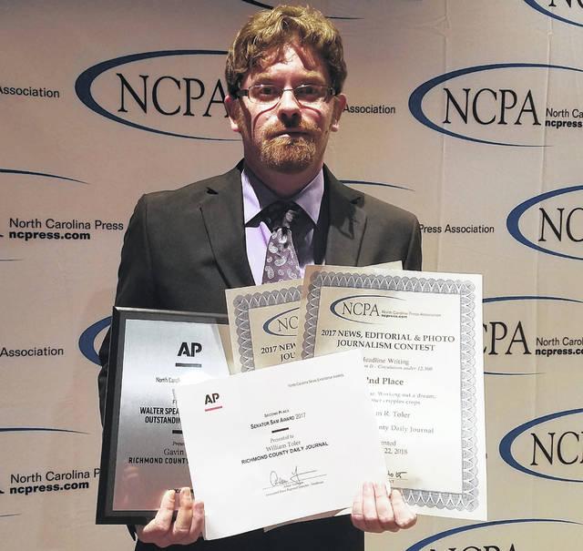 Xpress collects 12 awards at NC Press Association gala